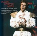 Picture of Justin Lavender Tenor, Bournemouth Sinfonietta, Howard Williams Conductor. Justin Lavender sings popular arias from Die Zauberflöte, Don Giovanni, Idomeneo, Cosí fan tutte and Die Entführung.