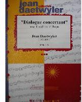 Picture of Sheet music for alto or tenor trombone and harp by Jean Daetwyler