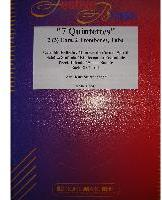 Picture of Sheet music  for 2 french horns (Eb/F), 2 trombones and tuba by Album of composers. Sheet music for brass quintet