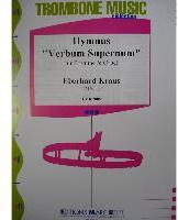 Picture of Sheet music for tenor trombone and organ by Eberhard Kraus
