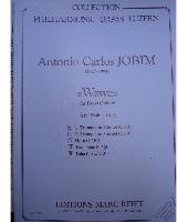 Picture of Sheet music  for 2 trumpets (Bb/C), french horn (Eb/F), trombone (bc/tc) and tuba (C/Eb). Sheet music for brass quintet by Antonio Jobim