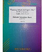 Picture of Sheet music  for trumpet (Bb/C), trumpet (C/Eb), french horn, trombone and tuba. Sheet music for brass quintet by Johann Sebastian Bach