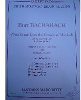 Picture of Sheet music  for 2 trumpets (Bb/C), french horn (Eb/F), trombone (bc/tc) and tuba (Bb/C/Eb). Sheet music for brass quintet by Burt Bacharach
