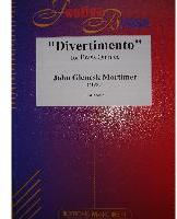 Picture of Sheet music  for 2 trumpets (Bb/C), french horn, trombone and tuba. Sheet music for brass quintet by John Mortimer
