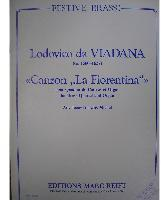 Picture of Sheet music  for 2 trumpets (Bb/C); french horn (Eb/F), baritone, trombone (bc/tc) or euphonium; baritone, trombone (bc/tc), euphonium or tuba; piano or organ. Sheet music for brass quartet and piano or organ by Lodovico da Viadana