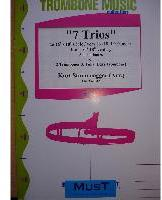 Picture of Sheet music  by Album of composers. Sheet music for 2 tenor trombones and tenor trombone or tuba