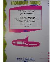 Picture of Sheet music  by Album of composers. Sheet music for 4 tenor trombones