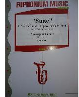 Picture of Sheet music for 3 euphoniums and euphonium or tuba by Arcangelo Corelli