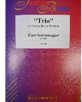 Picture of Sheet music for trumpet, french horn and tenor trombone by Kurt Sturzenegger