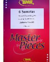 Picture of Sheet music for flute and piano or organ by Antonio Vivaldi