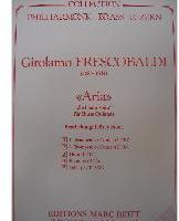 Picture of Sheet music  for 2 trumpets (Bb/C), french horn (Eb/F), trombone (bc/tc) and tuba (Bb/C/Eb). Sheet music for brass quintet by Girolamo Frescobaldi