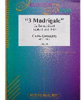 Picture of Sheet music  for 2 trumpets (bb/c); french horn (eb/f); trombone (bc/tc) or euphonium; tuba (c/eb). Sheet music for brass quintet by Carlo Gesualdo