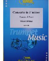 Picture of Sheet music for trumpet or cornet and piano by Oskar Böhme