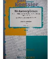 Picture of Sheet music  for 2 trumpets, french horn, trombone, tuba and harp. Sheet music for brass quintet and harp by Jan Koetsier