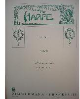 Picture of Sheet music for violin and harp by Louis Spohr