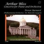 Picture of CD of the piano concerto by Bliss, performed by Trevor Barnard with the Philharmonia conducted by Sir Malcolm Sargent. Artist: Trevor Barnard, Philharmonia Orchestra and Malcolm Sargent