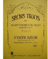 Picture of Sheet music for flute, violin and cello by Josef Haydn