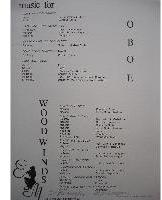 Picture of Sheet music  for flute; flute or oboe; clarinet; bassoon. Sheet music for woodwind quartet by Modest Mussorgsky