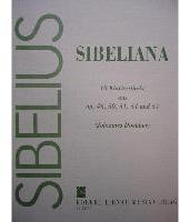 Picture of Sheet music for piano solo by Jean Sibelius