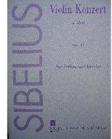 Picture of Sheet music for violin and piano by Jean Sibelius