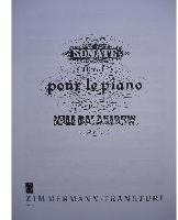 Picture of Sheet music for piano solo by Mily Balakirev