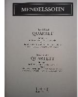 Picture of Sheet music  for violin, viola, cello and piano. Sheet music for piano quartet by Felix Mendelssohn