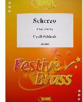 Picture of Sheet music  for 2 trumpets (Bb/C), french horn, trombone and tuba. Sheet music for brass quintet by Cyrill Schürch