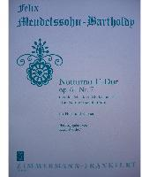 Picture of Sheet music for french horn and piano by Felix Mendelssohn