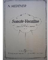 Picture of Sheet music for voice and piano by Nicolai Medtner
