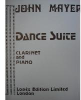Picture of Sheet music for clarinet and piano by John Mayer