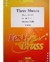 Picture of Sheet music  for trumpet (c/eb); trumpet (bb/c); french horn (eb/f); baritone or trombone (bc/tc); tuba (c/eb). Sheet music for brass quintet by Thomas Tallis