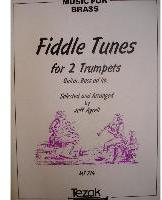 Picture of Sheet music  by Album of composers. Sheet music for 2 trumpets with optional guitar and double bass