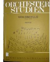 Picture of Sheet music for cello solo by Josef Haydn