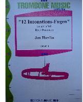 Picture of Sheet music for 3 tenor trombones by Jan Hawlin