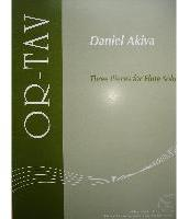 Picture of Sheet music for flute solo by Daniel Akiva