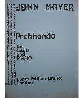 Picture of Sheet music for cello and piano by John Mayer