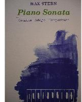 Picture of Sheet music for piano solo by Max Stern