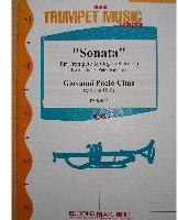 Picture of Sheet music for trumpet and piano or organ by Giovanni Cima