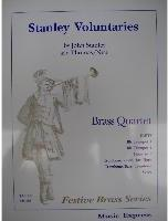 Picture of Sheet music  for 2 trumpets; french horn or trombone; trombone. Sheet music for brass quartet by John Stanley