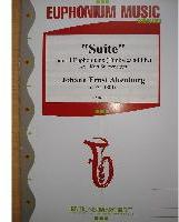 Picture of Sheet music for 4 euphoniums with optional timpani by Johann Altenburg