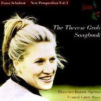 Picture of CD of songs by Franz Schubert, performed by Dorothee Jansen, soprano and Francis Grier, piano