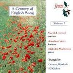 Picture of CD of songs by Gurney, Warlock and Quilter, performed by Sarah Leonard, soprano, Jonathan Veira, baritone and Malcolm Martineau, piano