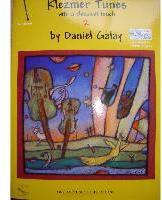 Picture of Sheet music for clarinet and piano or CD accompaniment by Daniel Galay