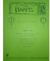 Picture of Sheet music for violin or flute and piano or harp by Johann André and Francesco Rosetti