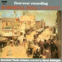 Picture of CD of symphonic music by GWL Marshall-Hall, performed by the Queensland Theatre Orchestra conductor Warren Bebbington