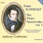 Picture of CD of piano music by Franz Schubert, performed by Anthony Goldstone - 2 CD set