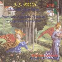 Picture of A double CD of Christmas organ music by J S Bach performed by Nicholas Jackson at the organ of New College, Oxford and works for harpsichord