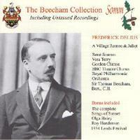 Picture of CD of Sir Thomas Beecham conducting performances of  A Village Romeo and Juliet and Songs of Sunset by Frederick Delius Artist: Royal Philharmonic Orchestra, LPO and Sir Thomas Beecham