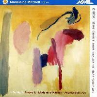 Picture of CD of violin music, performed by Madeleine Mitchell
