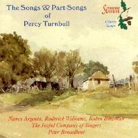 Picture of CD of music for a cappella voices and for soprano and baritone with piano, by English composer, Percy Turnbull Artist: Roderick Williams, James Bowman, Joyful Company of Singers and Nancy Argenta